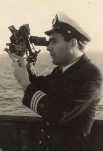 אברהם אריאל קצין ראשון בתצפית בוקר משמרת 8-4 שנת 1957.