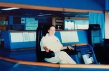 עדי אלעזרי בגשר קצין המשמרת באניית נוסעים 2001
