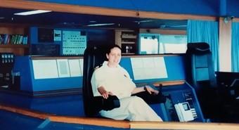 משמרת גשר באוניות נוסעים  עדי אלעזרי