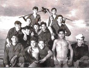 """צוות הגדנ""""ע על סיפון אח""""י אילת (א-16)"""