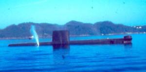 הצוללת לפני הצלילה