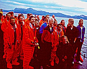 קבוצת מתרגלי ההיחלצות מצוללת 1986