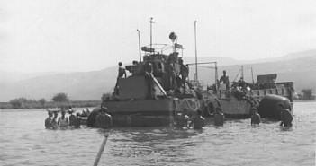 """נמ""""כ מח38 על שרטון בחוף הסורי בכנרת אוגוסט 1966"""