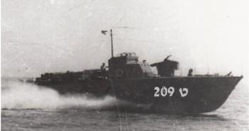 טרפדת ט-209 עליה שירת קינן בעת שטבעה.