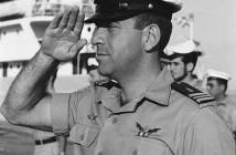 """צבי גבעתי בדרגת רס""""ן בשנת 1967"""
