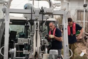 רלו רוזנברג בכלי השיט הבלתי מאויש המפותח באלביט 2019