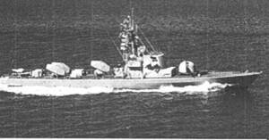 """אח""""י חץ סער 3 ספינה מצטיינת במלחמת יום הכיפורים בפיקודו של רס""""ן משה אורון"""