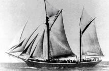 הספינה איל דה רוס לפני שהוסבה לספינת המעפילים ״עמירם שוחט״