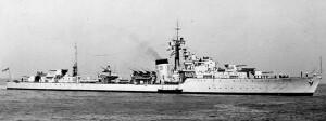 המשחתת הבריטית HMS SAUMAREZ