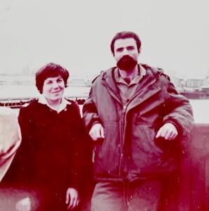 קצינת החן מיכל ברוקמן וסגן המפקד עמנואל דרור