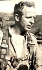 """סא""""ל אליעזר פריגת מפקד טייסת הפנטומים שפגע והשמיד אוסה מצרית"""